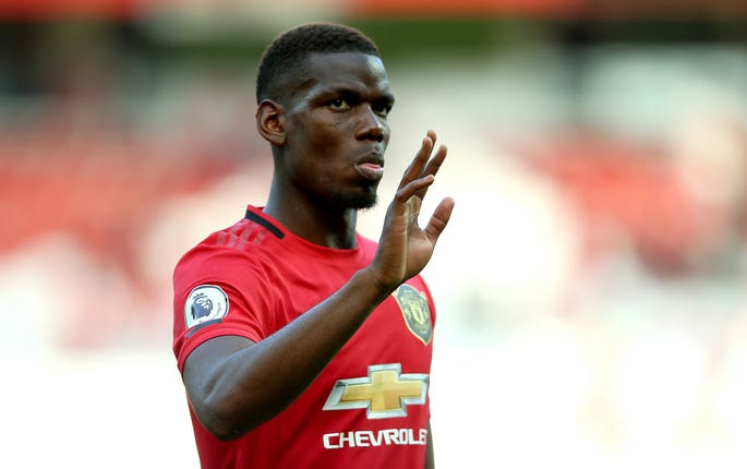 Paul Pogba is still a Manchester United player, but doubts remain over his future