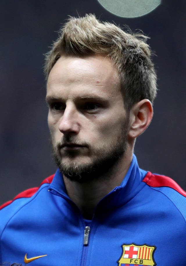 Ivan Rakitic was a half-time addition for Barca.