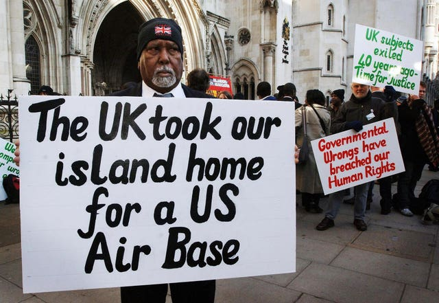 Chagos islanders at High Court