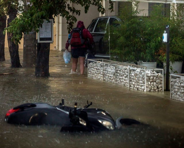 Flooding in Greece