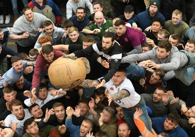 Shrove Tuesday Atherstone Ball Game