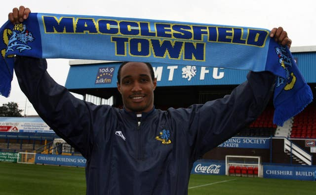 Paul Ince managed Macclesfield for one season