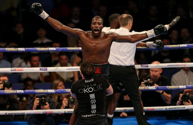 Lawrence Okolie, like Anthony Joshua, fought for Great Britain at the Olympics