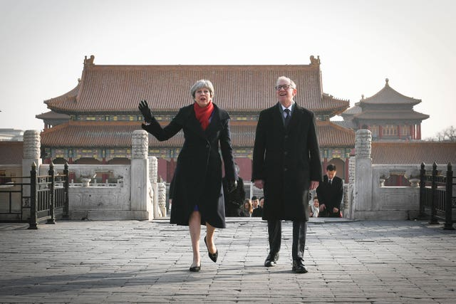 The PM will later meet President Xi Jinping