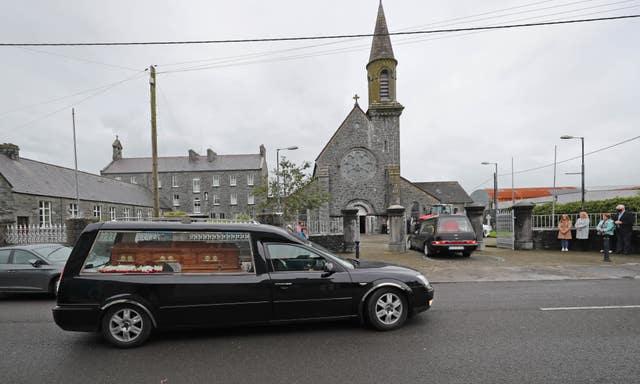 Eileen and Jamie O�Sullivan funeral