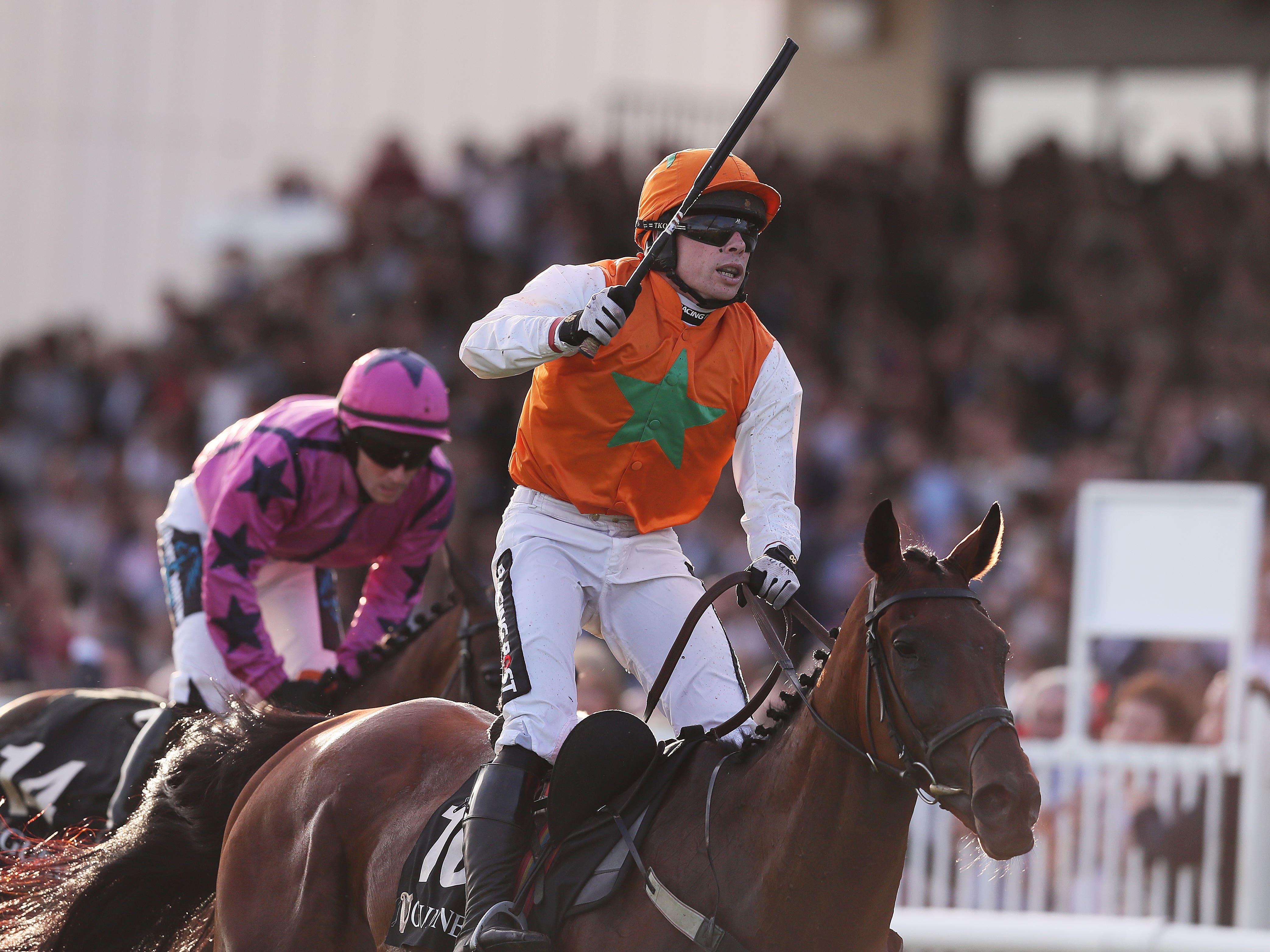 Snugsborough Benny won the Galway Blazers last year (Brian Lawless/PA)