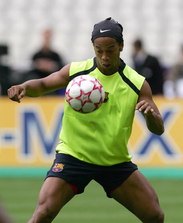 Mauricio Pochettino spoke about the charisma of Ronaldinho