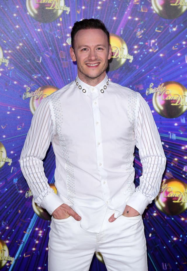 Kevin Clifton Strictly anxiety