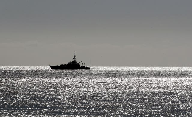 A Border Force cutter on patrol,
