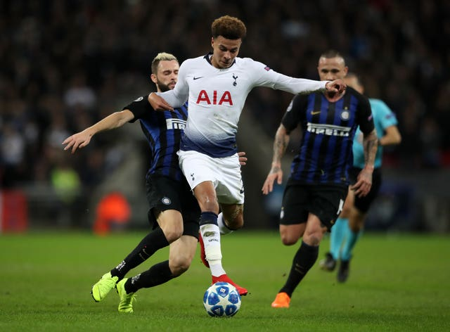 Tottenham Hotspur v Inter Milan – UEFA Champions League – Group B – Wembley Stadium