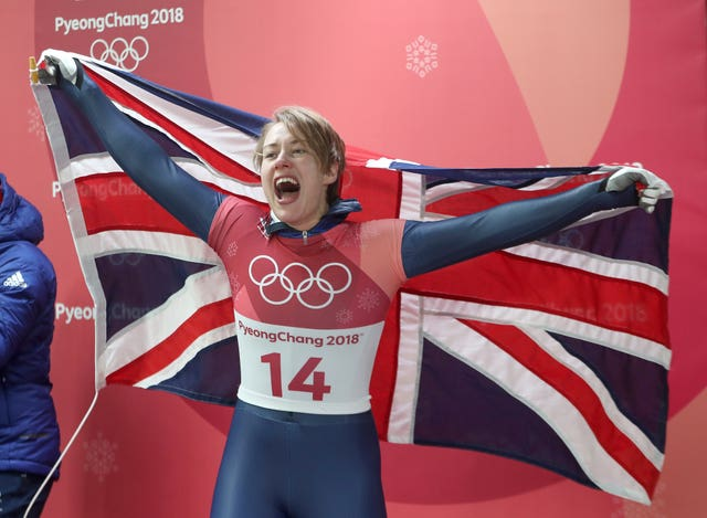 Lizzy Yarnold won her second Olympic gold in Pyeongchang