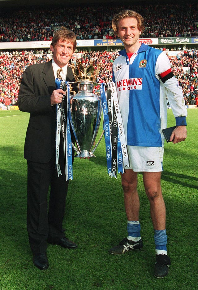 Kenny Dalglish won the title as Blackburn manager
