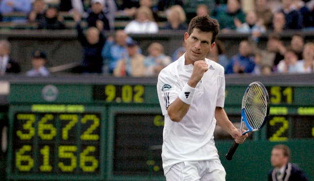 Tim Henman was beloved at Wimbledon (Rebecca Naden/PA)