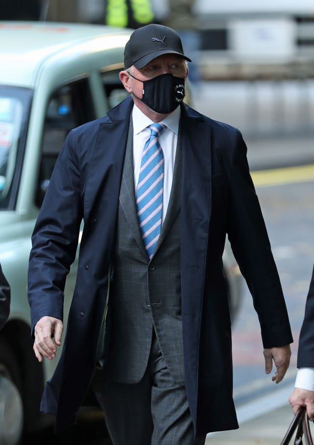 Boris Becker court case