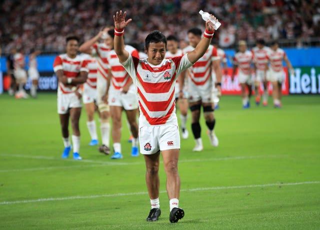Japan v Ireland – Pool A – 2019 Rugby World Cup – Shizoka Stadium Ecopa