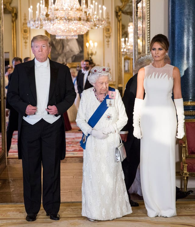 The Trumps and the Queen