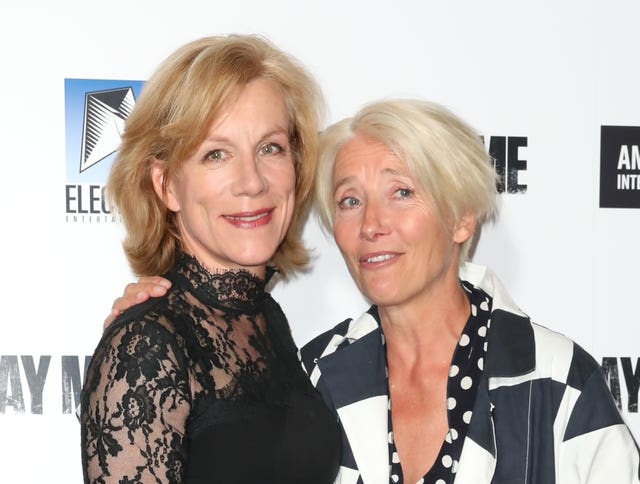 Juliet Stevenson and Emma Thompson