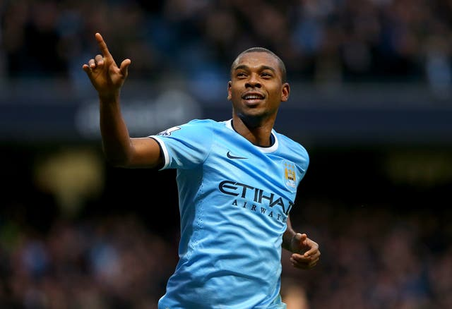 Fernandinho bagged as brace as City thrashed Arsenal in front of their own fans.