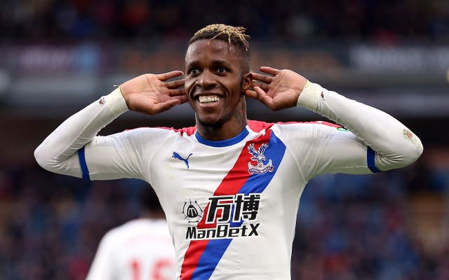 Wilfried Zaha has also reportedly courted the attention of the Gunners.
