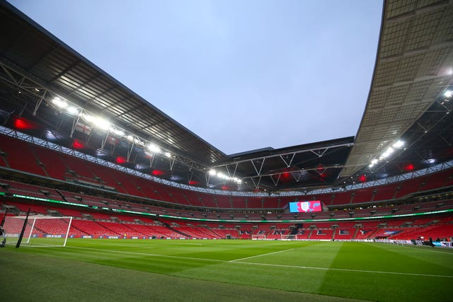 Wembley was due to be in use this summer for Euro 2020