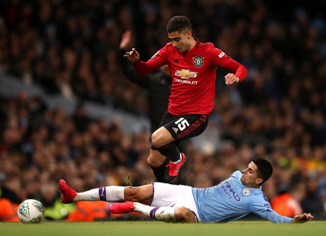 The last second leg of the Carabao Cup semi-finals was this Manchester derby at the Etihad Stadium on January 29, 2020