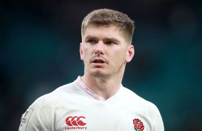 Owen Farrell will lead England into the Six Nations having not played for two months