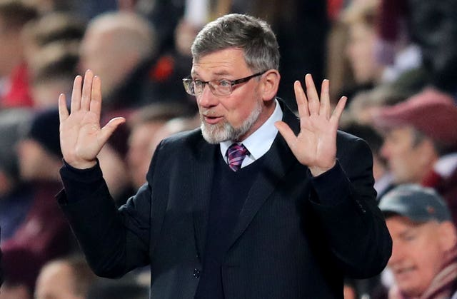 Hearts manager Craig Levein has yet to get his hands on a major piece of silverware
