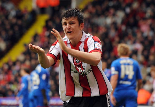 England and Manchester United defender Harry Maguire began his professional career in the Championship at Sheffield United.