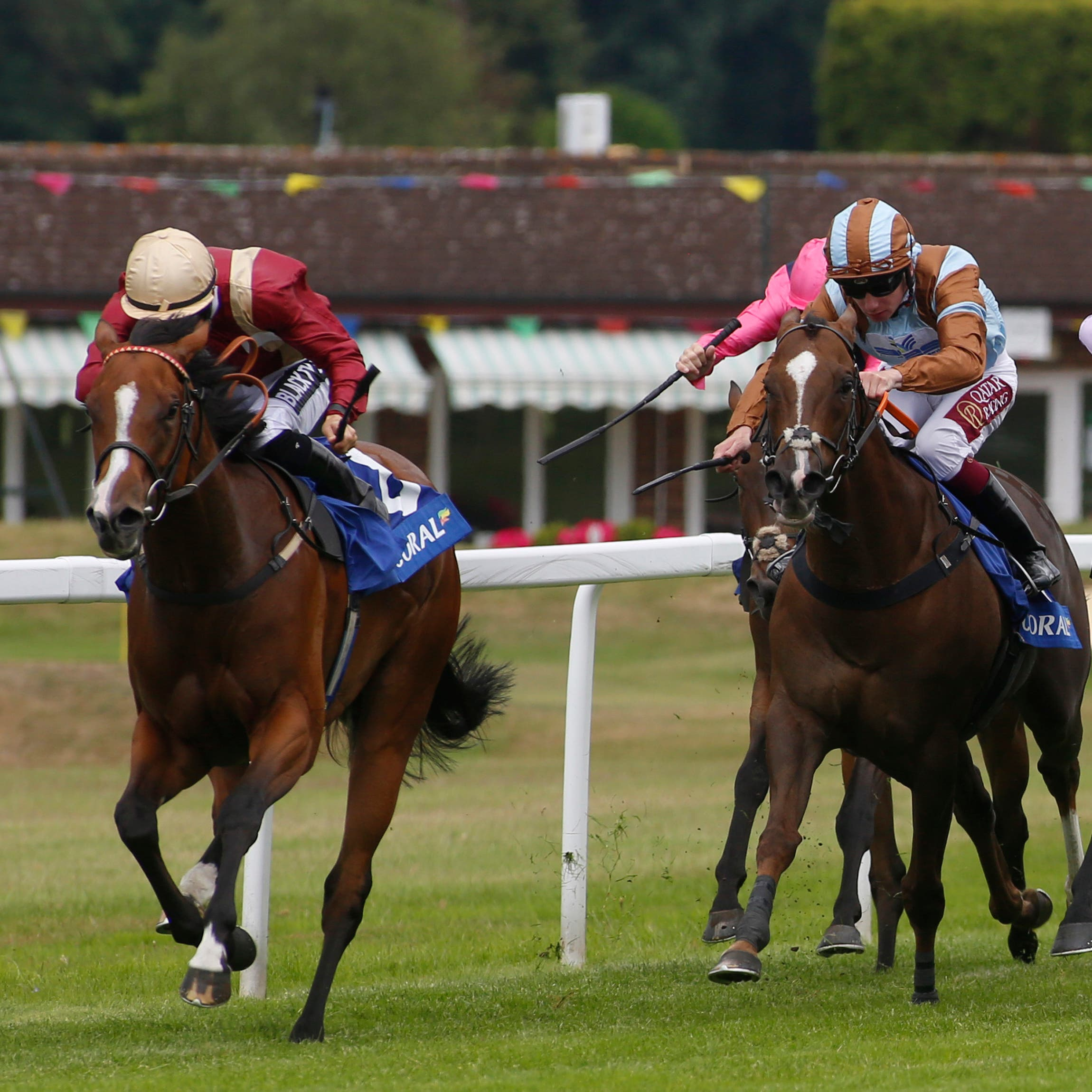 Kurious (left) could begin her autumn campaign at the Curragh