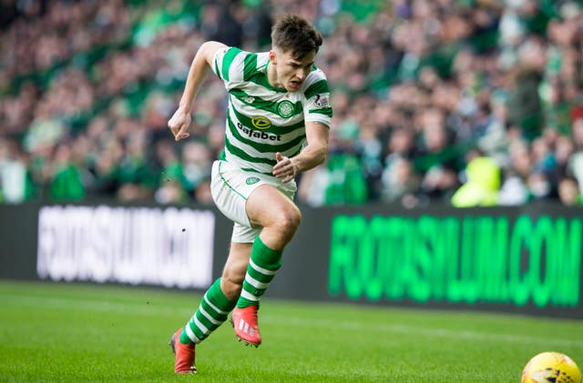 Celtic's Kieran Tierney is set to replace Robertson