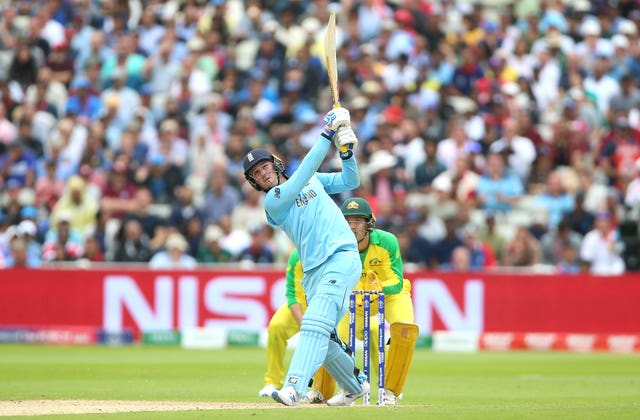 Australia will not relish facing Jason Roy again (Nigel French/PA)