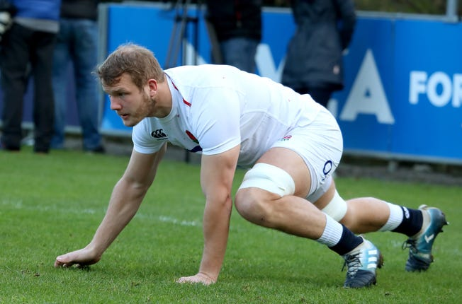 Joe Launchbury will start in the second row against the USA