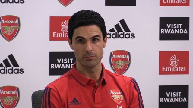 Arteta laid down the law during his first press conference as Arsenal head coach