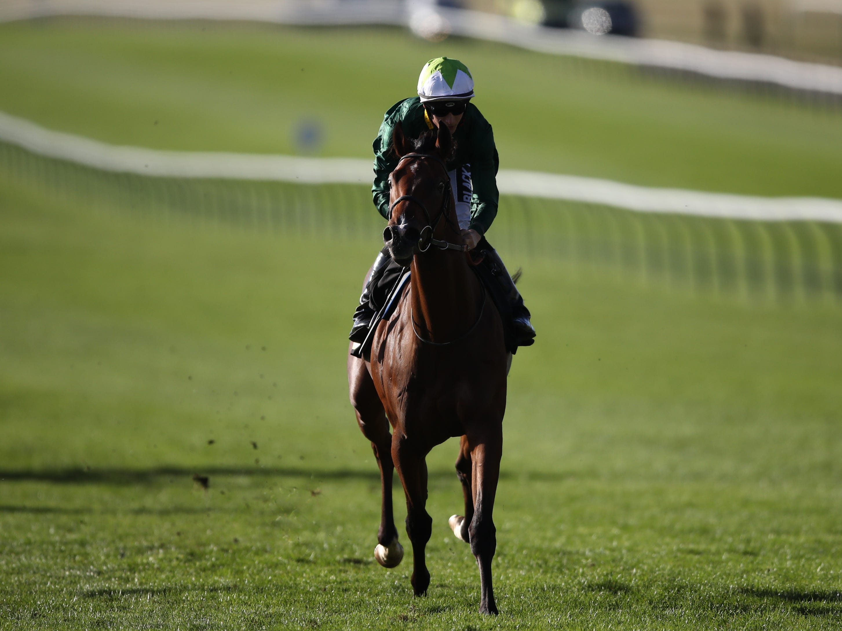 Kinross was a hugely impressive winner on debut (Tim Goode/PA)