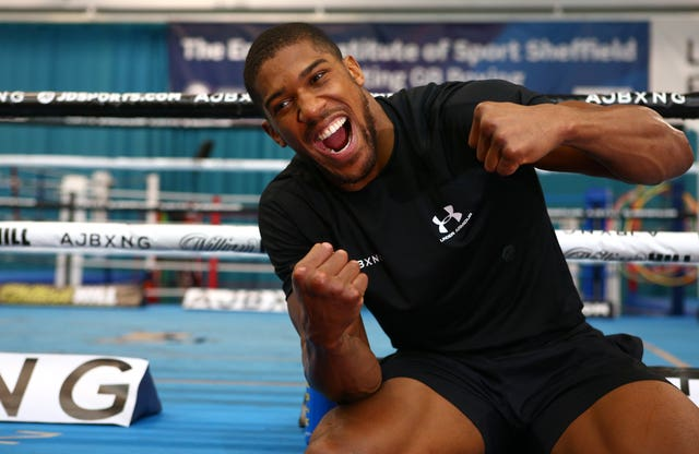 Anthony Joshua is next in action on June 1
