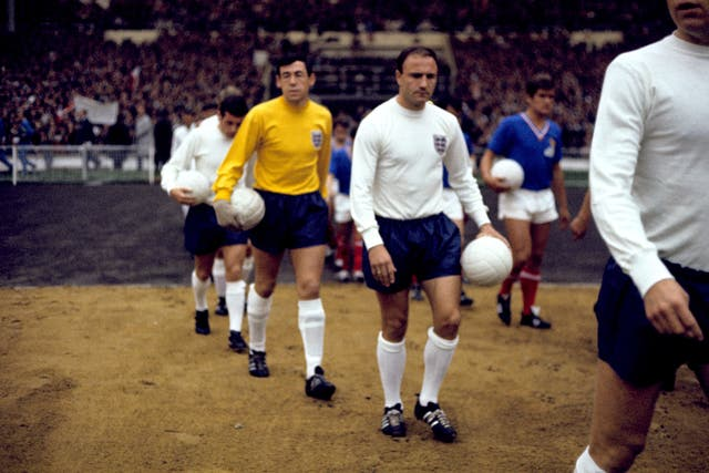 Gordon Banks was England's No.1 in 1966
