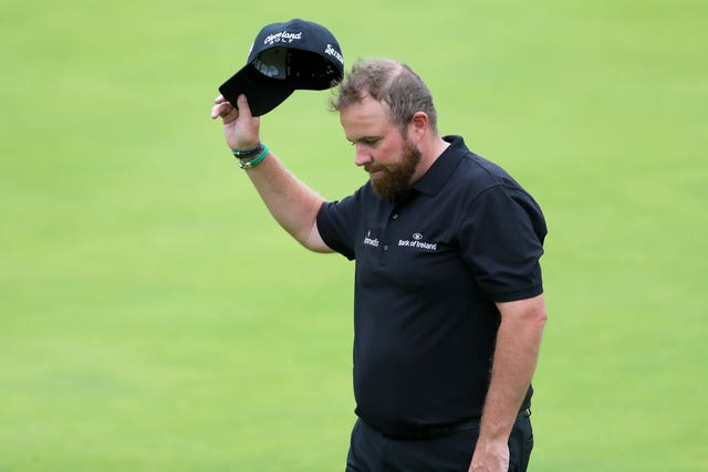 Shane Lowry is the joint leader at the halfway stage at Royal Portrush