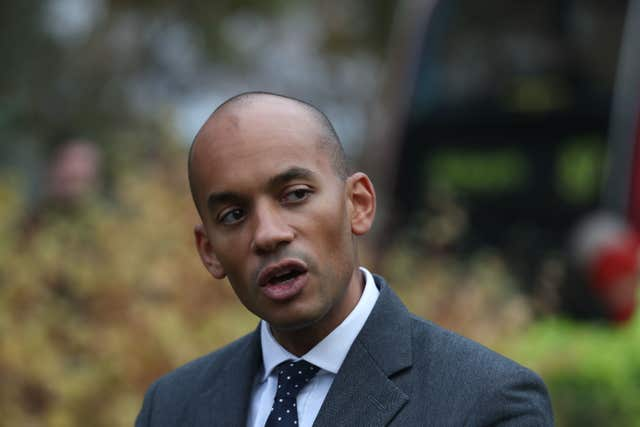 Chuka Umunna is one of the Labour MPs at the centre of speculation about a split (Steve Parsons/PA)