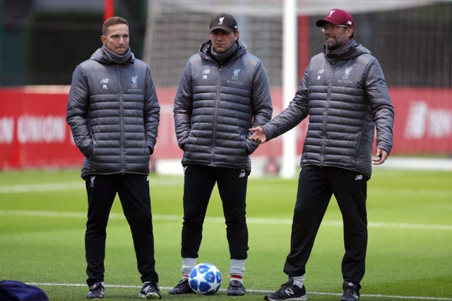 Liverpool's coaching staff