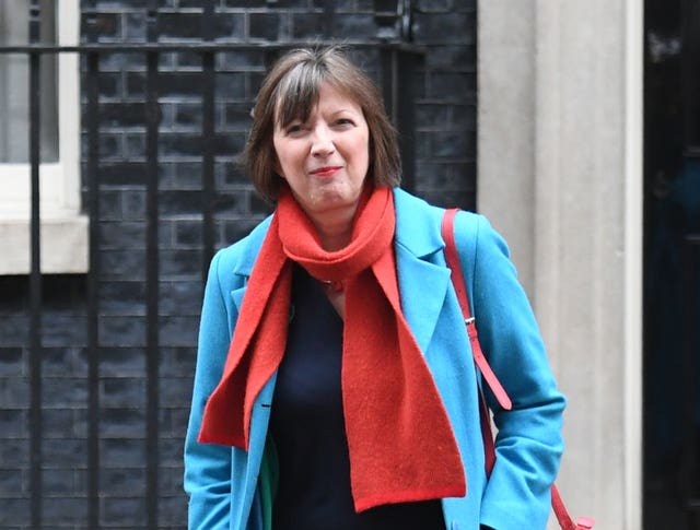 Frances O'Grady, who said she was looking for guarantees on workers' rights