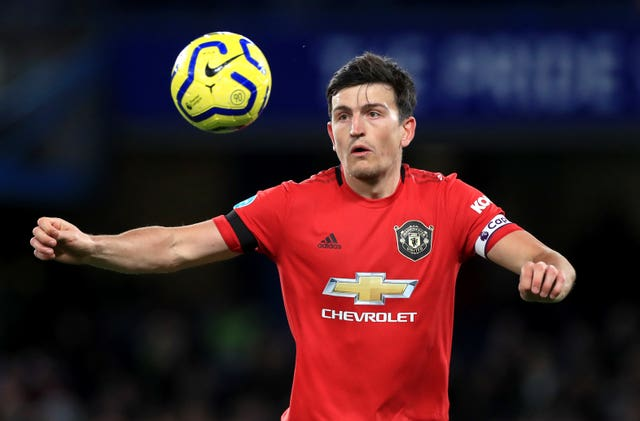 Harry Maguire is an injury doubt for Manchester United
