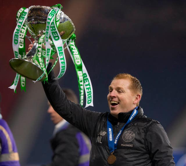 The first domestic honours of the season went to Celtic manager Neil Lennon as his side beat bitter rivals Rangers 1-0 in the Betfred Cup final