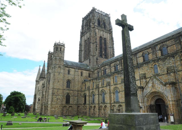 Durham Cathedral was empty at the time and was used as a prison for the Scottish captives (Anna Gowthorpe/PA)
