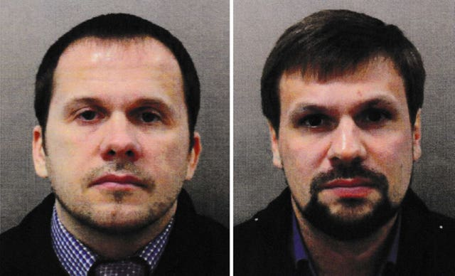 Men accused of the Novichok attack