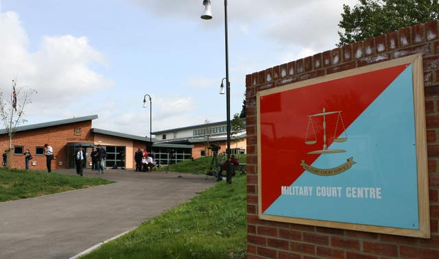 Bulford Military Court in Wiltshire