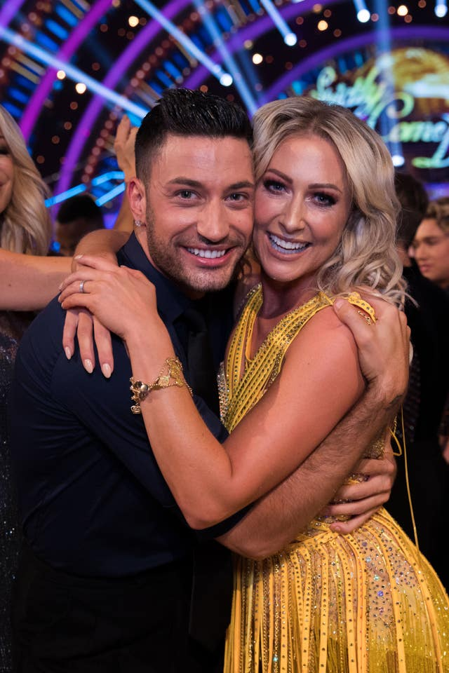 Giovanni Pernice and Faye Tozer