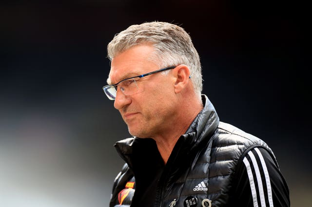 Nigel Pearson was sacked by Watford with two games of the season remaining