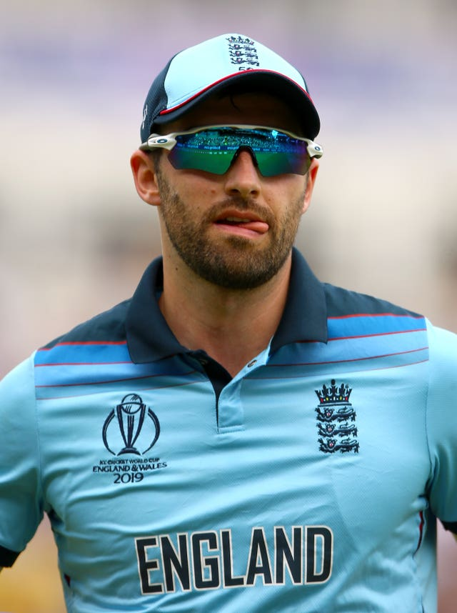 Mark Wood required treatment in the World Cup final