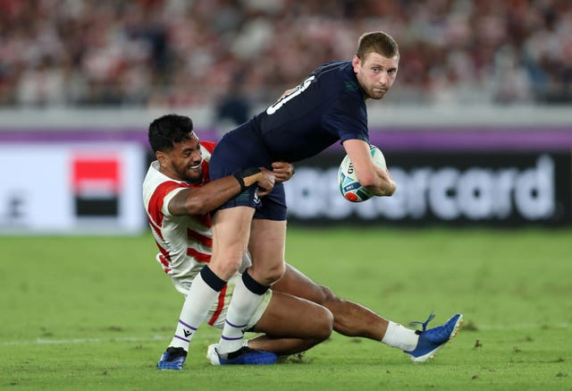Finn Russell is not in the Scotland squad