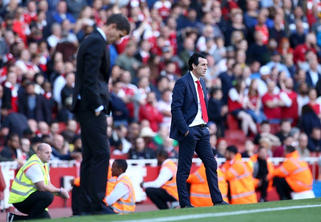 Unai Emery and Javi Gracia are good friends